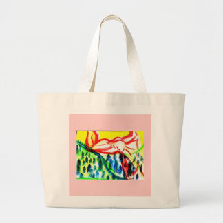 Valley of muscle. tote bag