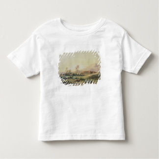 Valley of Nile with Ruins of the Temple of Toddler T-shirt