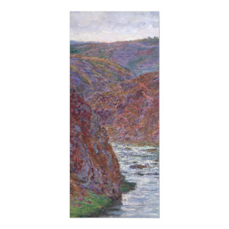Valley of the Creuse (Gray Day) by Claude Monet Card