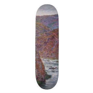 Valley of the Creuse (Gray Day) by Claude Monet Skateboard