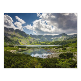 Valley Of The Five Lakes Photographic Print