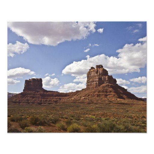 Valley of the Gods Monuments Photo Print