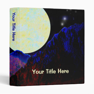 Valley of the Moon 3 Ring Binder