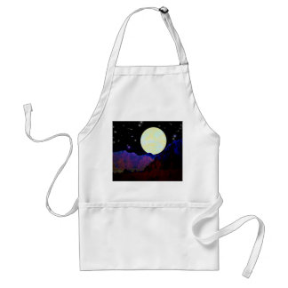 Valley of the Moon Adult Apron