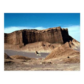 Valley of the moon, Atacama Desert, Chile Desert Postcard