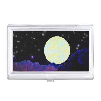Valley of the Moon Business Card Holder