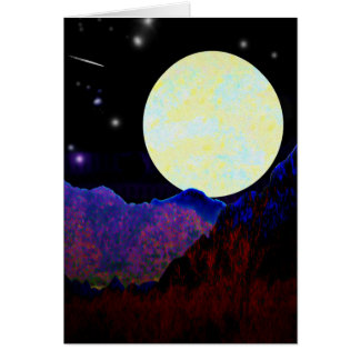 Valley of the Moon Card