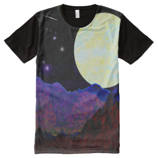 Valley of the Moon All-Over Print T-shirt