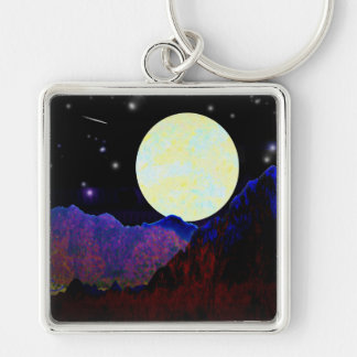 Valley of the Moon Keychain