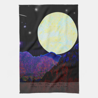 Valley of the Moon Kitchen Towel