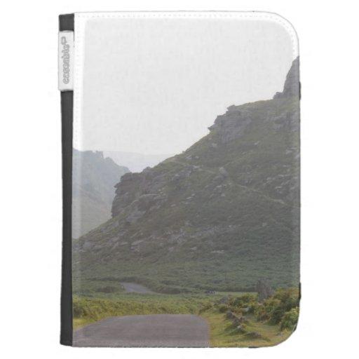 Valley of The Rocks, Devon. Kindle Keyboard Cases