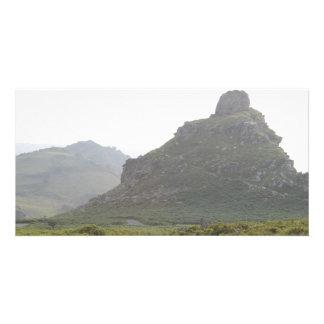Valley of The Rocks, Devon. Customized Photo Card