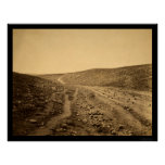Valley of the Shadow of Death 1855 Print