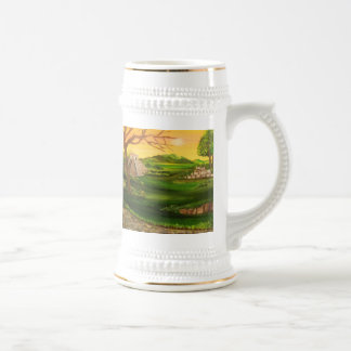 Valley of the Sun Temple. Beer Stein