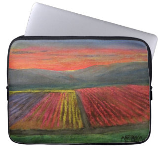 Valley of Tulips Laptop Sleeve