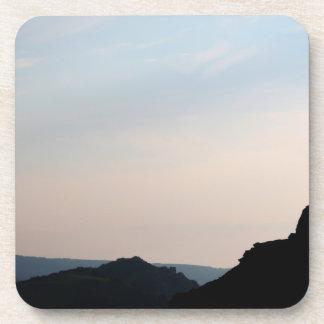 Valley on The Rocks, Devon, England. Drink Coaster