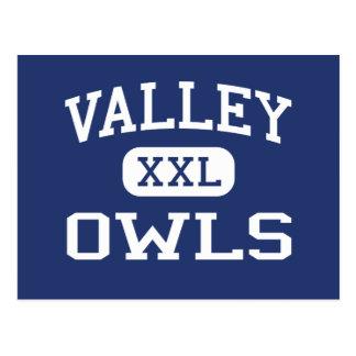 Valley - Owls - Valley High School - Sandy Utah Postcard