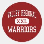 Valley Regional - Warriors - High - Deep River Sticker