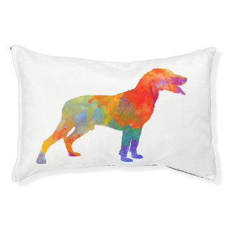 Valley Scenthound in watercolor knows Pet Bed