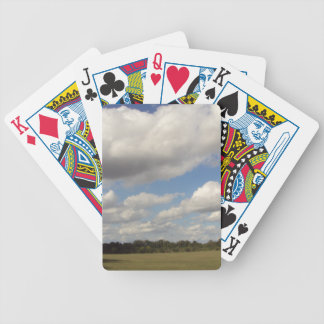 Valley Sky Bicycle Playing Cards