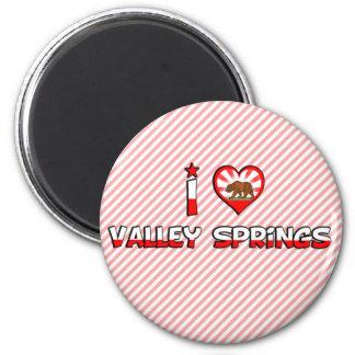 Valley Springs, CA Magnet
