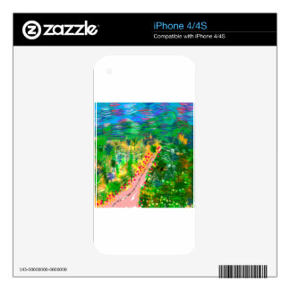 Valley Storm iPhone 4S Decal