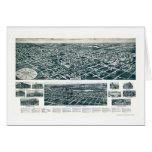 Valley Stream, NY Panoramic Map - 1924 Card