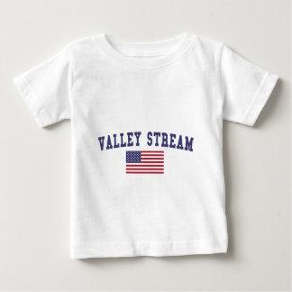 Valley Stream US Flag Baby T-Shirt