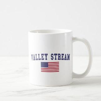 Valley Stream US Flag Coffee Mug