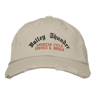 Valley Thunder, American Cycle Service & Repair Embroidered Baseball Cap
