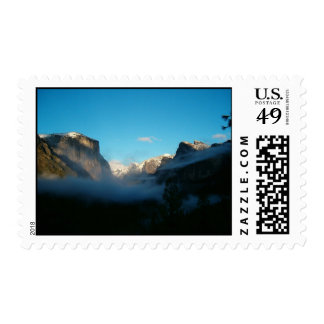 valley view after storm postage stamps
