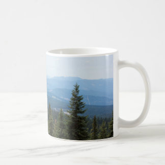 Valley View from Mt. Shasta Coffee Mug