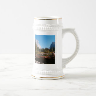 valley view in fall beer stein