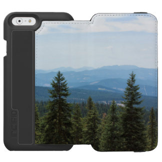 Valley View on Mt Shasta Wallet Case