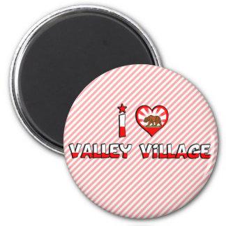 Valley Village, CA Refrigerator Magnet