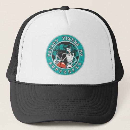 VALLEY VIXENS MC SUPPORT APPAREL TRUCKER HAT