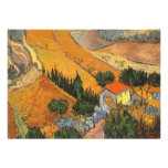 Valley with Ploughman by van Gogh, Birthday Party Personalized Invites