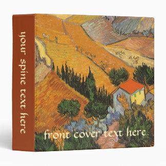 Valley with Ploughman by Vincent van Gogh Binder
