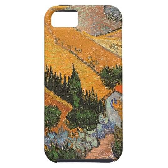 Valley with Ploughman by Vincent van Gogh iPhone SE/5/5s Case