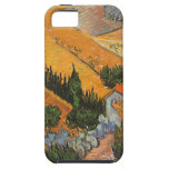 Valley with Ploughman Seen From Above Van Gogh iPhone 5 Cover
