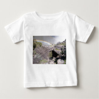 Valley with Rainbow Baby T-Shirt