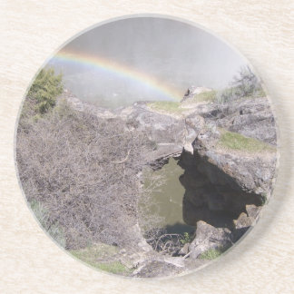 Valley with Rainbow Drink Coaster