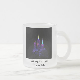 Valley zFrosted Glass 1 10 Oz Frosted Glass Coffee Mug