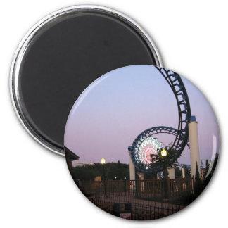 Valleyfair3 2 Inch Round Magnet