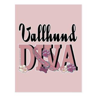 Vallhund DIVA Postcard