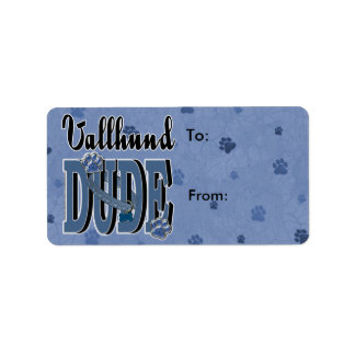 Vallhund DUDE Label