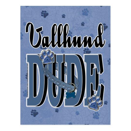 Vallhund DUDE Postcard