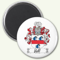 Valli Family Crest Magnet