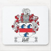 Valli Family Crest Mousepad
