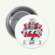 Valli Family Crest Button
